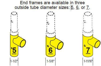 scaffolding tube size