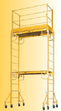stackable scaffolding