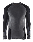 489717329699 Thermal Underwear Top 100% Merino Wool