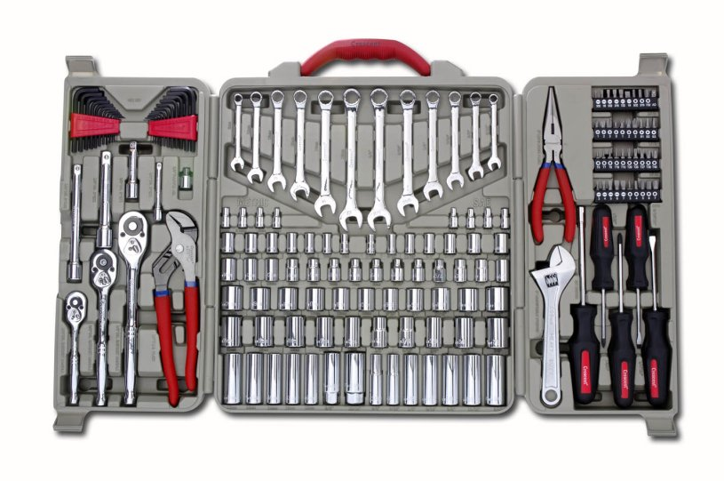 Crescent® Brand 170-Piece Professional Mechanic Tool Set