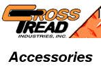 Accessories for Cross Tread Truck Ladder Racks