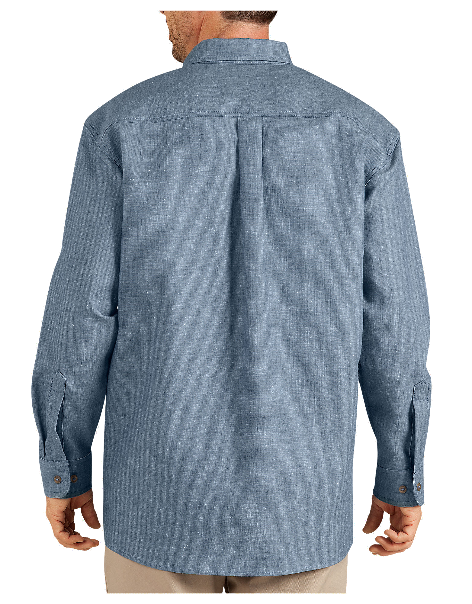 Flame resistant long sleeve chambray shirt for Chambray long sleeve shirt