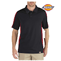 Industrial Color Block Performance Polo Shirt