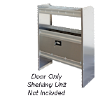 Aluminum Van Shelving Door Kit