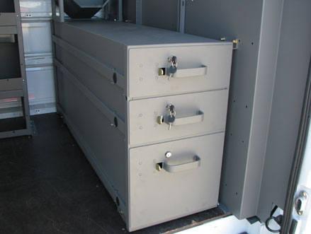 commercial van drawers