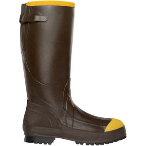 Alpha Aggressive Steel Toe Rubber Boots