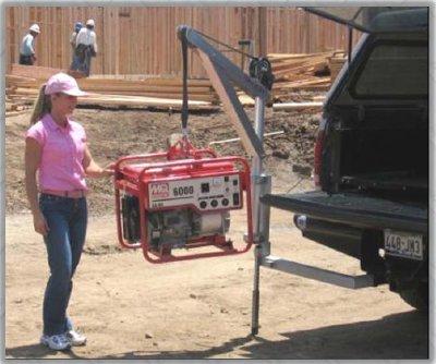 Truck Receiver Hitch Mount For Spitzlift Portable Crane