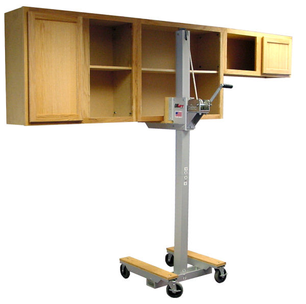 Cabinet lift, cabinet jack lifting upper kitchem cabinets