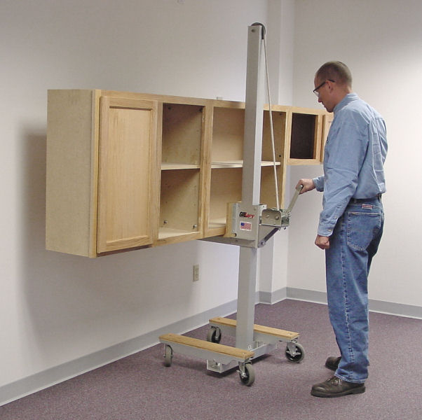Attrayant GilLift Cabinet Jack Moving Upper Kithen Cabinets