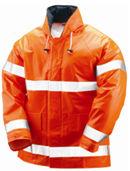 electra orange FR jacket