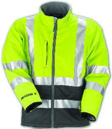 Phase 3 Hi Visibility Jacket front