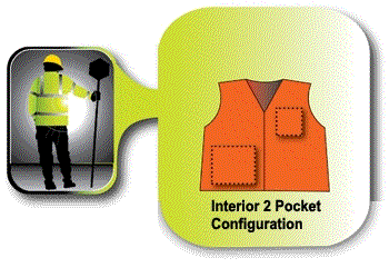 reflective safety vest pockets