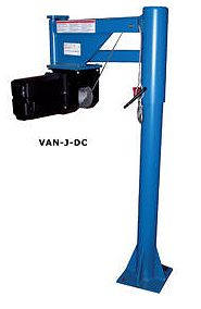 DC Electric Jib Crane for Vans