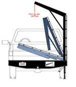 Fold Away Bumper Cranes