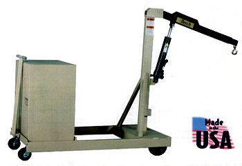 counterweight floor crane