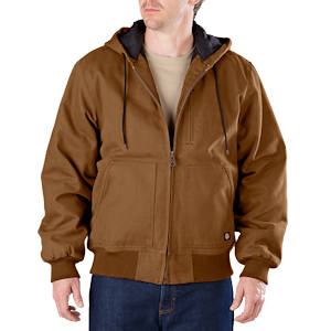 Sanded Duck Hooded Jacket
