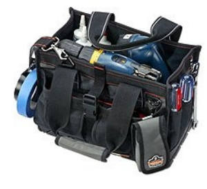 open top tool bag organizer