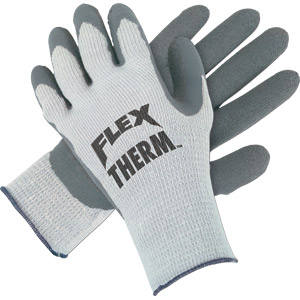 Flex-Therm™ Gray Shell/Palm Gloves