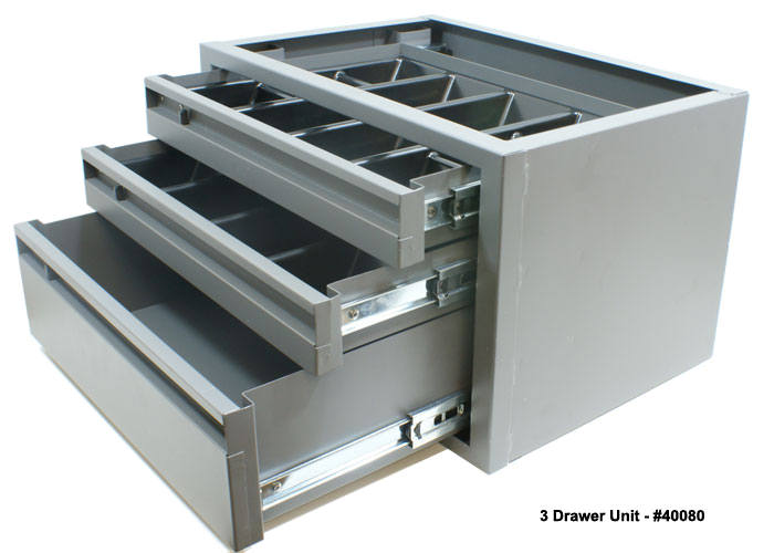 Drawer Cabinets for Commercial Vans