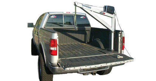 portable pickup hoist