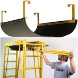 scaffold storage cradle