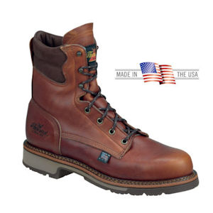 American Heritage 8 inch Leather Work Boots 814-4549