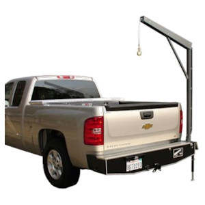 pick up truck bumper crane