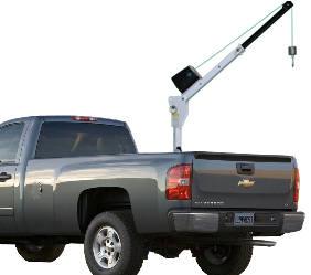 portable truck crane