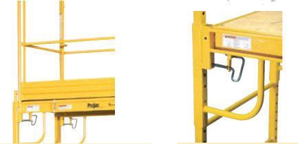 Pro-Jax scaffolding details