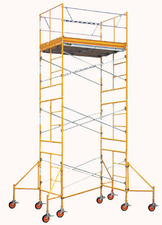 rolling scaffold tower