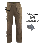 Work Pants with knee pads