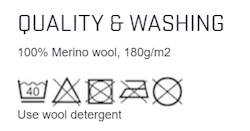 Merino wool underwear care instructions