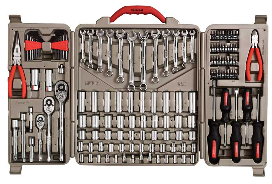 Crescent 174 Brand 148 Piece Professional Mechanic Tool Set