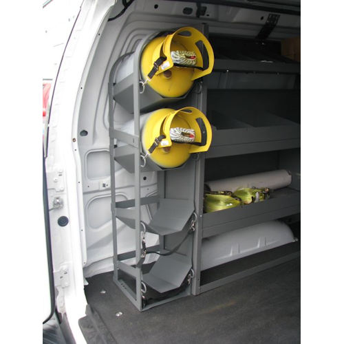 Refrigerant Tank Rack For Commercial Vans