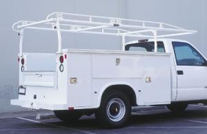 Pro II service truck rack