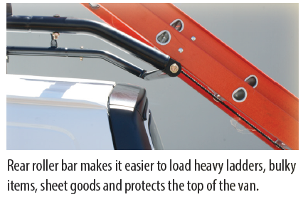 Kargomaster Pro Ii Commercial Van Ladder Rack