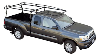 Pro III truck rack on pickup