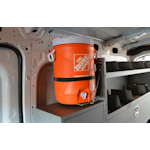 Water Jug Holder for Commercial Vans
