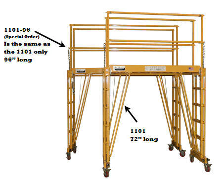 work platform scaffolding comparison