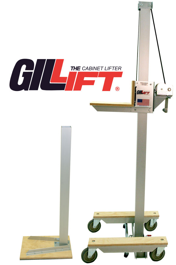 kitchen cabinet jacks the original gillift 174 cabinet lift kit by telpro 18994