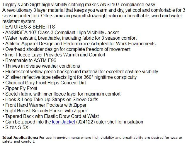 Phase 3 Hi Visibility specs