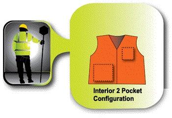 reflective reflective vest pockets