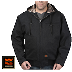 Muscle Back Hooded Jacket with Kevlar