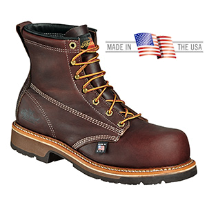 64e49172cfe Thorogood 804-4367 6 inch Safety Toe Work Boots