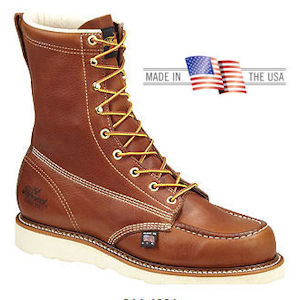 71d15673679 Thorogood 8 inch Moc Toe Work Boots 814-4201