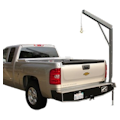 A Series Bumper Cranes for Pickup Trucks