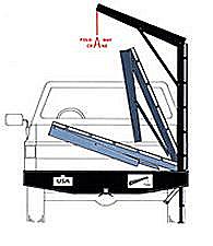 truck bumper crane
