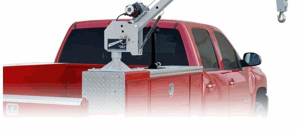 utilty truck crane