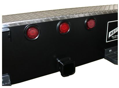 LED rear lights in bumper