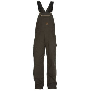 Unlined Washed Overalls - Duck